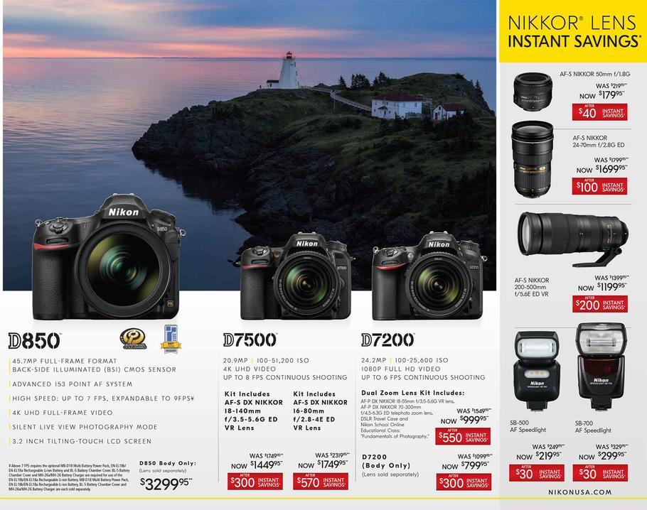 2018 Nikon Black Friday Ads Leaked Camera News At Cameraegg