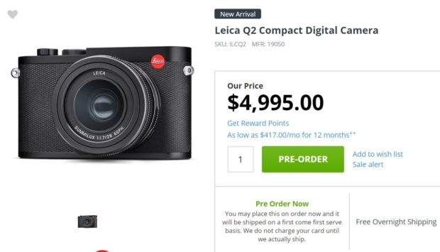 Leica Q2 – Camera News at Cameraegg