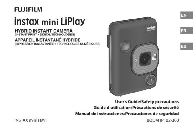 Fujifilm Instax mini LiPlay Leaked !