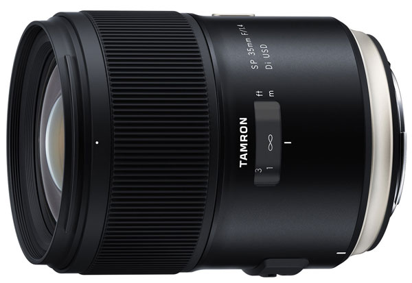 Tamron Announced the Price & Release Date for SP 35mm f/1.4 Di USD Lens