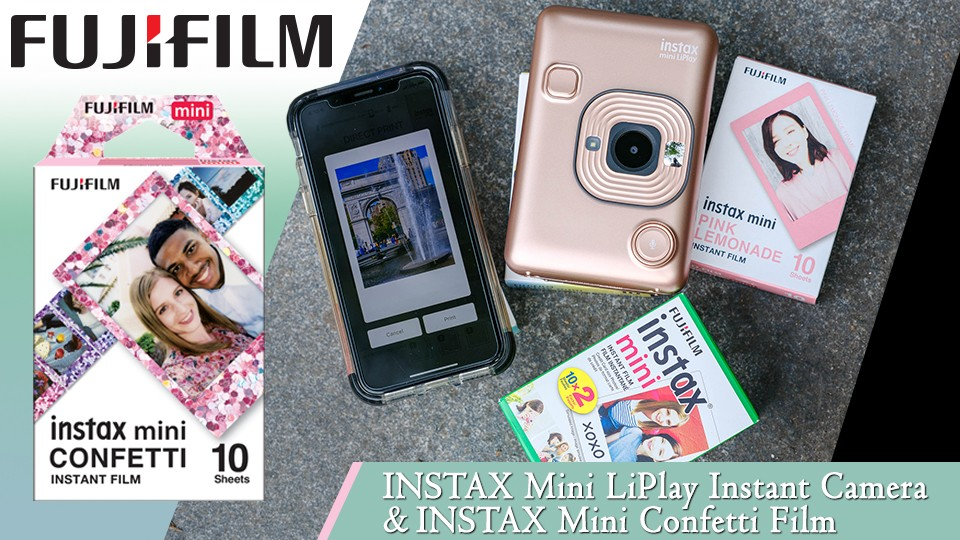 Fujifilm INSTAX Mini LiPlay Announced, Price $159.95