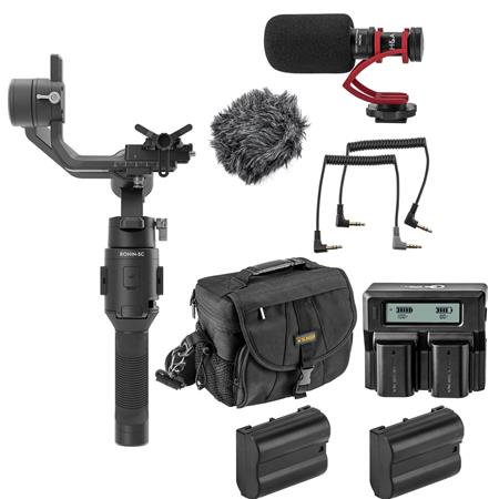 Hot Deal: DJI Ronin-SC Gimbal Stabilizer With NIKON Kit for $299