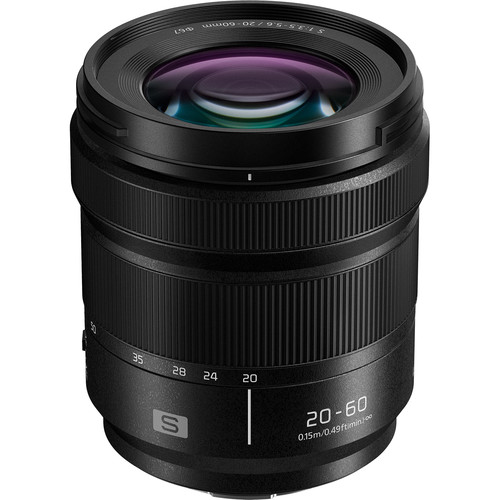 Panasonic Lumix S 20-60mm F3.5-5.6 Lens Officially Announced, Priced $597,99