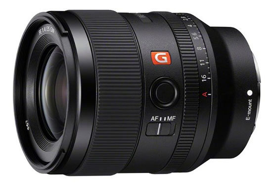 Sony FE 35mm F1.4 GM Lens Leaked Images