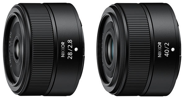 Nikon Nikkor Z 28mm F2.8 and 40mm F2 Lenses to be Announced with Nikon Zfc on June 28, 2021
