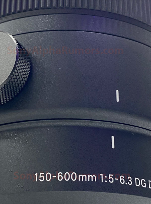 Image of Sigma 150-600mm F5-6.3 DG DN OS  Sports Lens Leaked