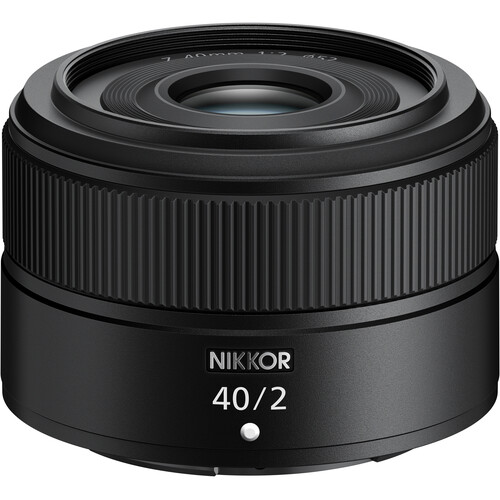 Nikon Nikkor Z 40mm F2 Lens Officially Announced for $296.95, Available for Pre-Order